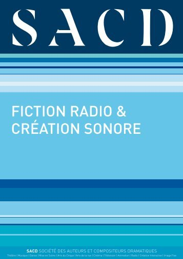 FICTION RADIO & CRÉATION SONORE - Canalblog