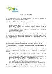 Motion Canal Seine Nord Le développement de ... - Artois Comm.