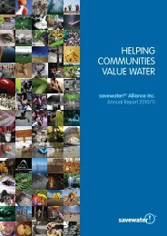 2010-11 Annual Report - Savewater.com.au