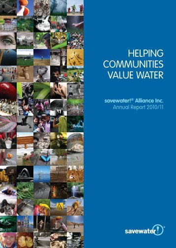 2010-11 Annual Report - Savewater.com.au