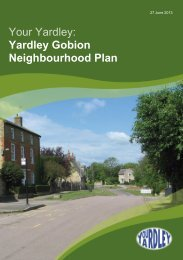 Download the Neighbourhood Plan (3MB PDF) - Yardley Gobion