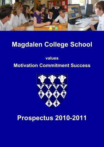 Magdalen College School - Hays