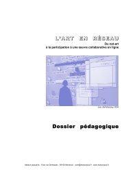 L'ART EN RÉSEAU Dossier pédagogique - Maison Populaire