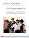 La sécurité des élèves dans les cours de sciences au ... - CODE - Page 6