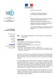Objet : Les passerelles voie générale / voie technologique ... - Onisep