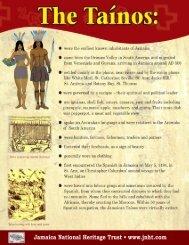 Taíno Influence on Jamaican Folk traditions - Jamaica National ...