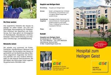 Hospital zum Heiligen Geist - GSE
