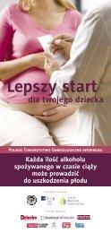 Każda ilość alkoholu spożywanego w czasie ciąży może prowadzić ...