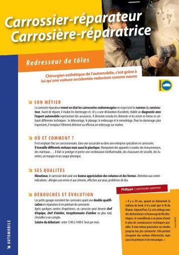 Carrossier-réparateur Carrosière-réparatrice - Onisep