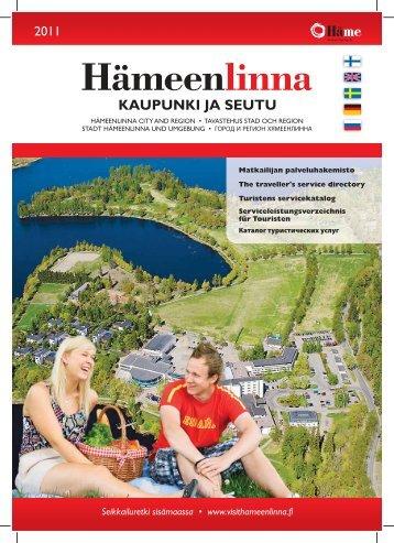 KAUPUNKI JA SEUTU - Hämeenlinnan kaupunki