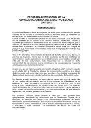 Programa Institucional de la Consejería Jurídica y de Asistencia ...
