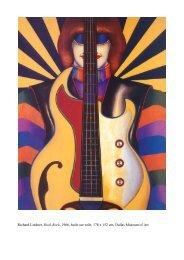 Richard Lindner, Rock-Rock, 1966, huile sur toile, 178 x 152 cm ...