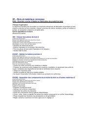 05 – Bois et matériaux connexes - Fae-cfm.ca