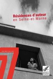 Résidences d'auteur - Médiathèque départementale de Seine-et ...