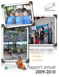 Rapport annuel 2009-2010 - Commission scolaire de Kamouraska ...