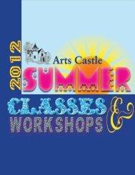 summer classes! - The Arts Castle