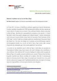Le pétrole est une malédiction pour le delta du Niger - Chaire de ...