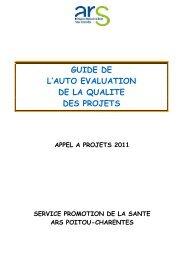 GUIDE DE L'AUTO EVALUATION - ARS Poitou-Charentes