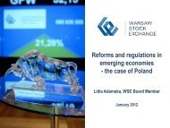 Reforms and Regulations in Emerging Economies - Capital Markets ...
