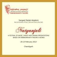 Natyanjali - Sangeet Natak Akademi