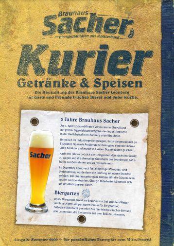 5 Jahre Brauhaus Sacher Biergarten
