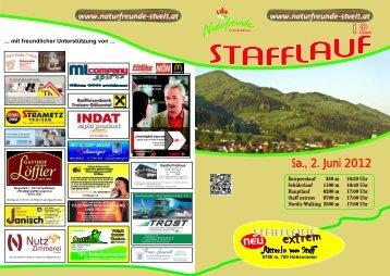 stafflauf 2012 - Naturfreunde St. Veit/Gölsen