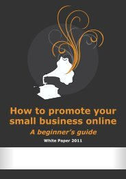 How to promote your small business online - Email Brain