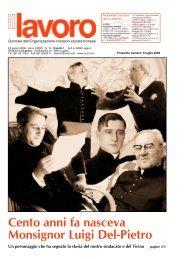 Cento anni fa nasceva Monsignor Luigi Del-Pietro