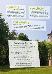Bier! Pils 0,3l 2,30 0,5l 3,10 - Brauhaus Sacher