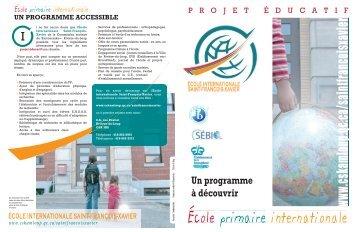 Projet éducatif - Commission scolaire de Kamouraska—Rivière-du ...