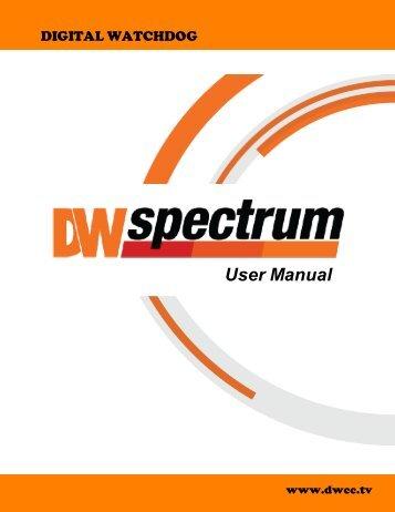DW Spectrum User Manual - publiclibrary.dwcc.tv