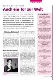 Tor zur Welt - Schweizerischer Hebammenverband