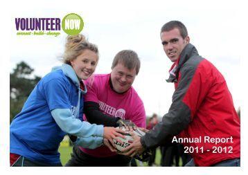 Annual Report 2011 - 2012 - Volunteer Now