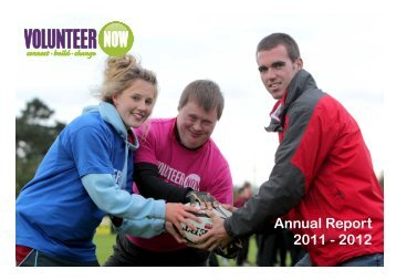 Annual Report 2011 - 2012 - Volunteer Now