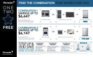 6647 $6147 - Coast Wholesale Appliances