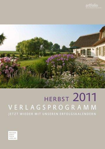 Verlagsprogramm - Herzlich Willkommen beim Vertriebsbüro ...