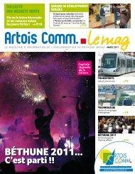 Le mag mars 2011 - Artois Comm.