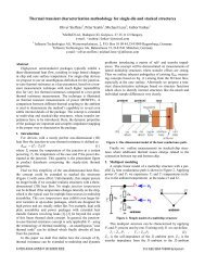 Thermal transient characterization methodology for single-die and ...