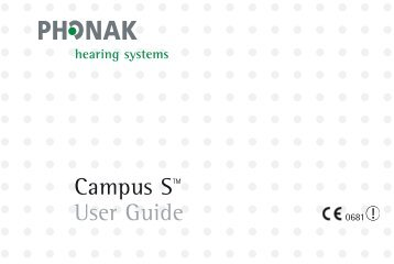 Campus S User Manual - NSSEO