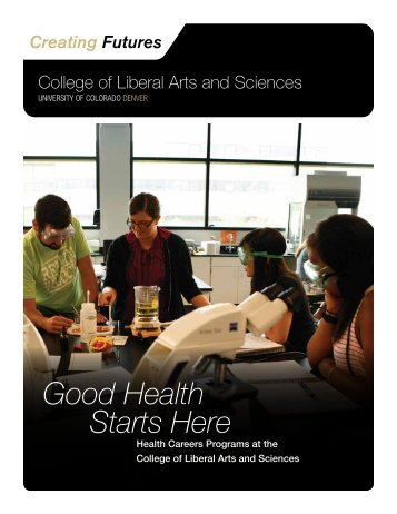 Good Health Starts Here - University of Colorado Foundation