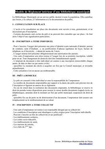 60 free magazines from mediatheque seine et marne fr - Reglement interieur copropriete exemple ...