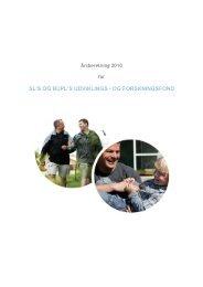Årsrapport 2010 - slbupl-fond.dk