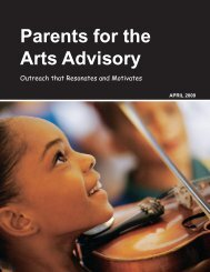 Parents for the Arts Advisory - Art Educators of New Jersey