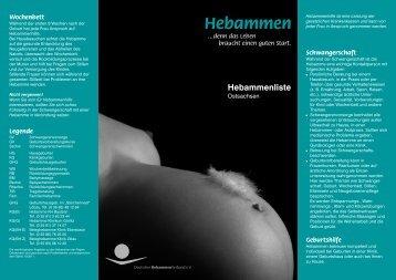 Hebammen - Sächsischer Hebammenverband eV