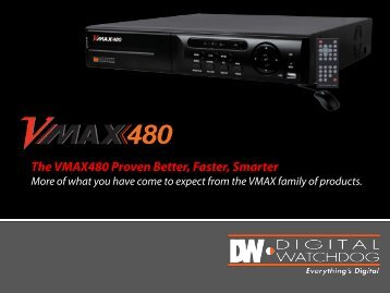 The VMAX480 Proven Better, Faster, Smarter - publiclibrary.dwcc.tv