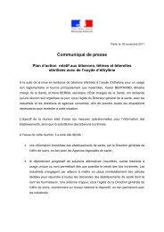 Communiqué de presse - ARS Poitou-Charentes
