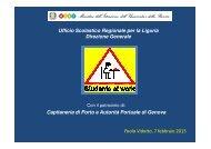 Presentazione del progetto Students at work - Genoa Port Center