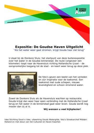Digitale wandeling langs het Goudse water - watererfgoed.nl