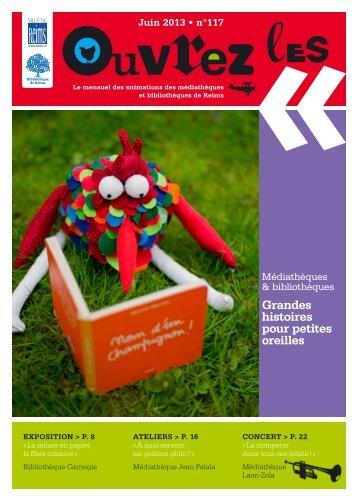Juin 2013 - Bibliothèque de Reims