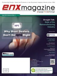 April 2013 Issue in PDF - ENX Magazine